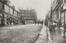 Vicar Street, looking south (c1900)
